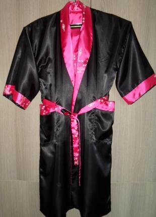 Халат-кимоно двухсторонний большой размер 54/56