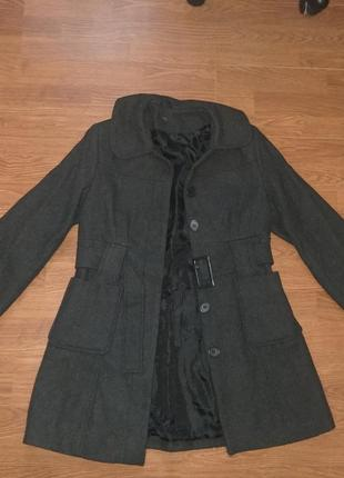 Шерстяное  и теплое пальто