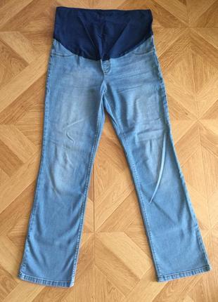 Фірмові джинсові штани для вагітних