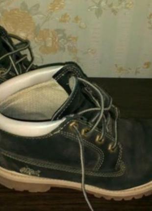Ботинки оригинал timberland б/у 37 размера, возможен обмен