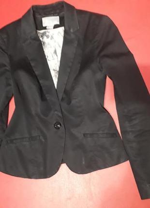 Пиджак на 1 пуговицу офисный