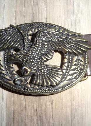 Ремень пряжка ремня орел