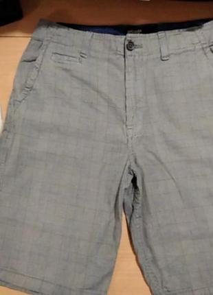 Продам х/б мужские уличные шорты в клетку американского бренда american eagle