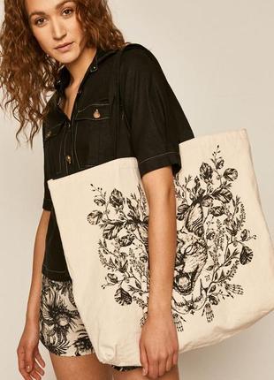Новая стильная сумка, 100% хлопок