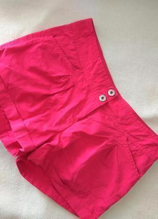 Яркий хлопковые шорты # котоновые шорты # джинсовые шорты denim co