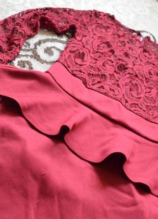 Плаття з баскою