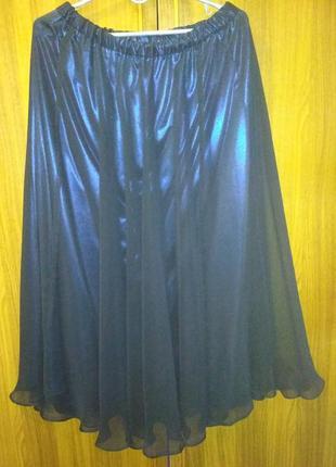 Фирменная  стиральная  шикарная юбка