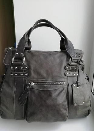 Німецька фірмова шкіряна сумка avant-premiere!!! оригінал!!!