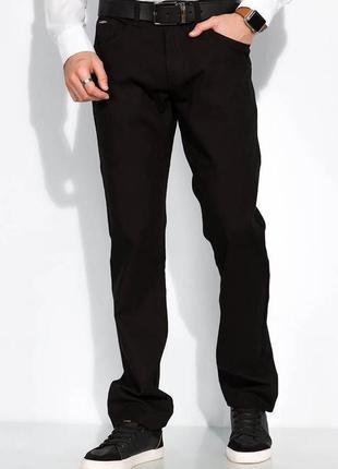 Мужские брюки однотонные