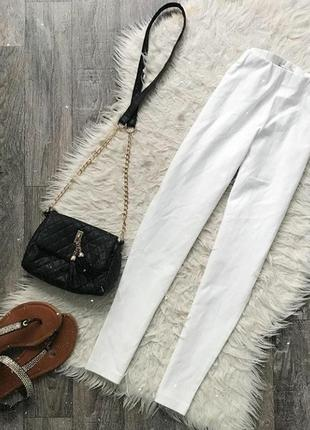 Белые лосины