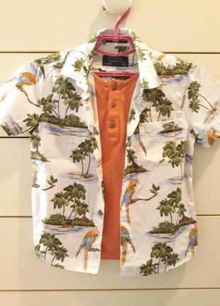 Рубашка - футболка mayoral для мальчика