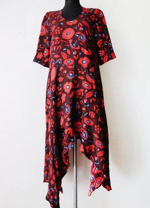 Прекраснейшее платье kenzo 100% жаккардовый шелк оригинал