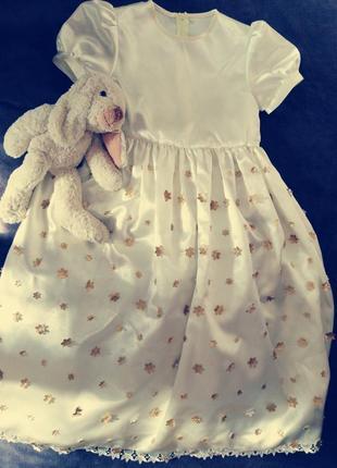 Платье для девочки бальное(шифон шёлк)