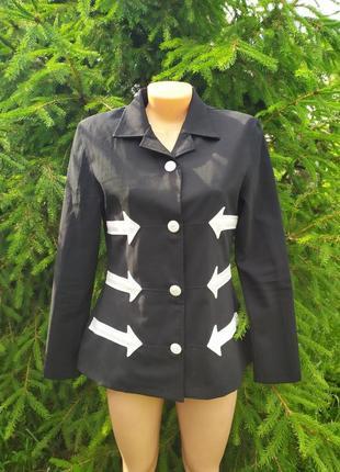 Оригинальный пиджак италия с шерстью
