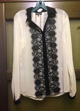 Шифоновая блуза warehouse