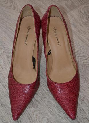 Туфли женские р. 39-40, стелька 25,5 см