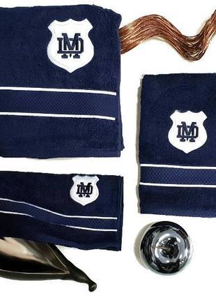 Полотенца, набор полотенец maison d'or 3шт alain navi (для мужчин)