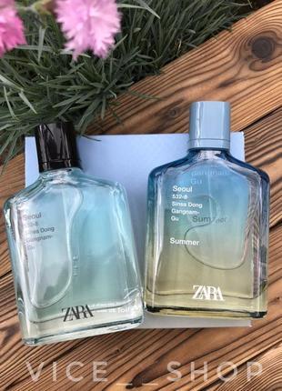Zara seoul summer духи парфюмерия туалетная вода оригинал испания