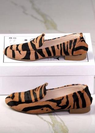 Леопардовые лоферы
