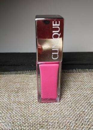 Блеск для губ clinique pop lacquer lip colour + primer