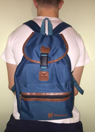 Вместительный портфель сумка robinson темно зелёный болотный
