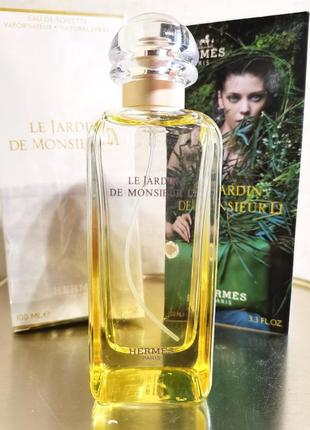 Оригинал 🎀 hermes le  jardin de monsieur li, парфюм, духи - цитрусовые, свежие