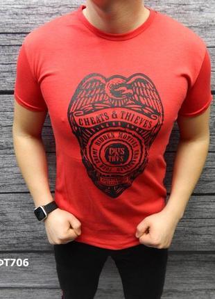 Акция скидка футболка стрейчевый хлопок есть размеры и цвета