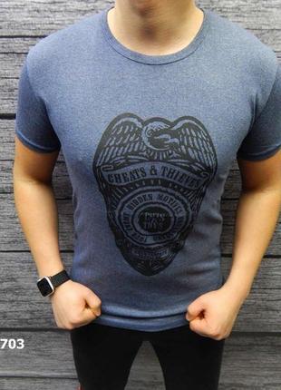 Акция скидка футболка из стрейчевого хлопка есть размеры