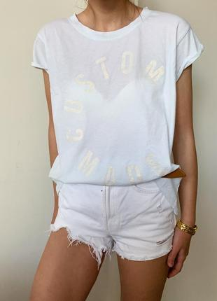 Крутая летняя футболка от custom made !