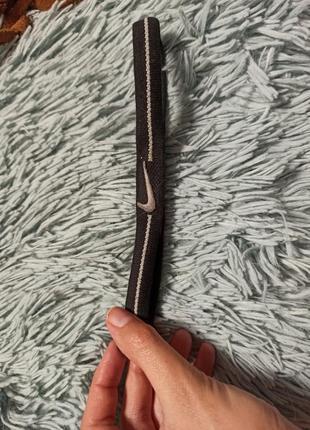 Спортивная резинка повязка для волос от nike