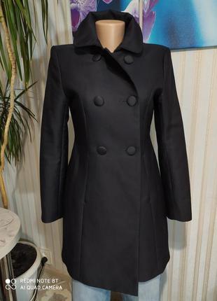 Очень крутой двубортный тренч пальто от h&m