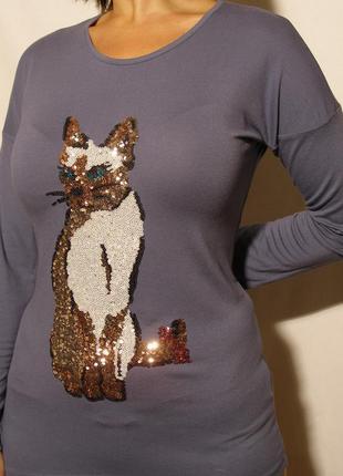 Нарядный свитерок из вискозы marks&spenser на девочку подростка