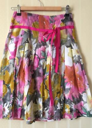 Воздушная цветочная юбка mosaic  xs