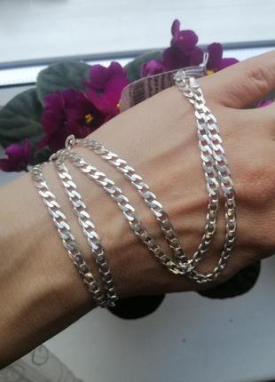 Ланцюжок срібний 55см