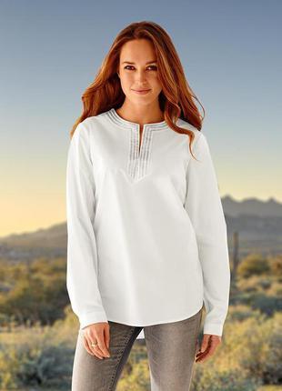 Распродажа женственная роскошь - блуза tchibo, германия - р. 54-56 укр.