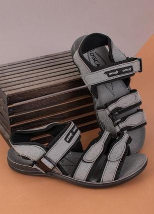 Мужские сандали на липучках