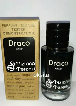 Tiziana terenzi draco стойкий арабский тестер люкс 60 мл красивый аромат