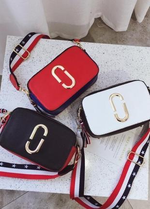 Хит продаж! модная женская сумка через плечо/сумка кросс боди под marc jacobs.3 фото