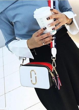 Хит продаж! модная женская сумка через плечо/сумка кросс боди под marc jacobs.4 фото