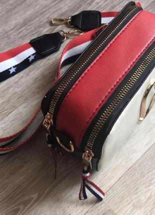 Хит продаж! модная женская сумка через плечо/сумка кросс боди под marc jacobs.6 фото