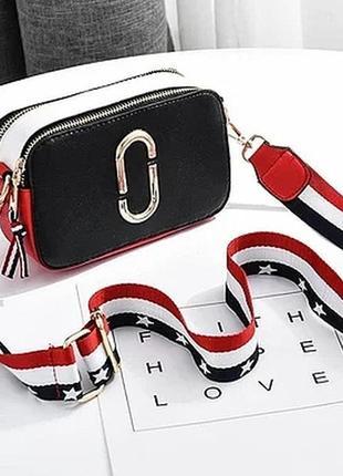 Хит продаж! модная женская сумка через плечо/сумка кросс боди под marc jacobs.8 фото