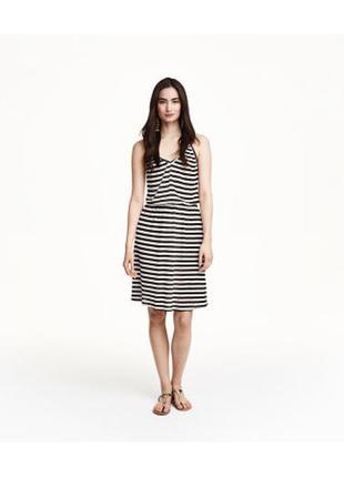 Платье h&m вискоза с