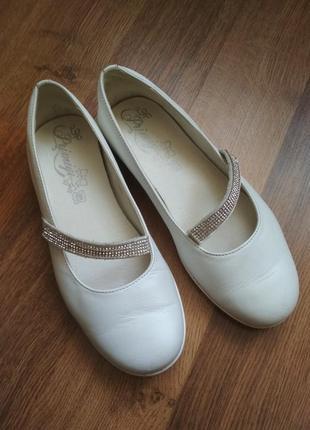 Кожаные туфельки primigi