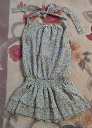 Стильная блуза- туника на девочку подростка или мамочку с размером xs.