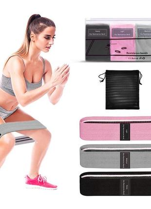 Набор! фитнес резинки. тканевый набор для фитнеса, фитнес резинки, фітнес резинки.