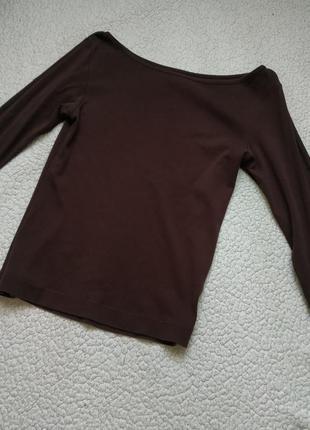 Базовая коричневая кофта