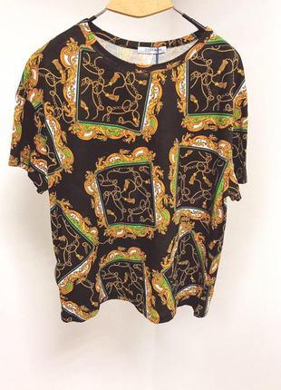 Zara стильна  жіноча футболка