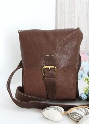 Породистая статусная мужская сумка ashwood, англия, натуральная кожа