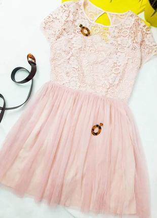 Сукня з фатином
