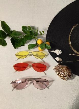 Новинка! модные и стильные очки солнцезащитные!